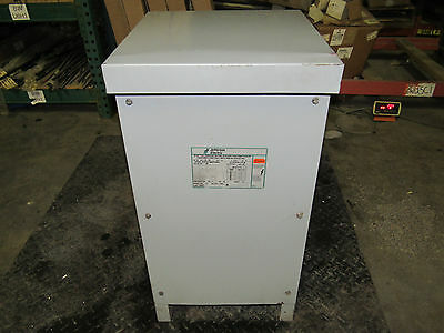 Jefferson Electric 221-3186-504 Transformer 25kva 1ph 480v 240x480v Xlnt