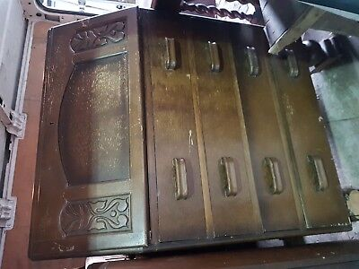 antique furniture chest of drawers and Opening table