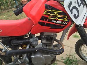 Honda 100 xr 2000