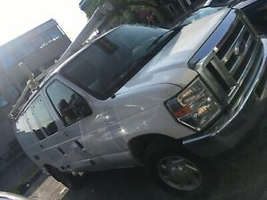 Ford E350 cargo van (commercial safetied)
