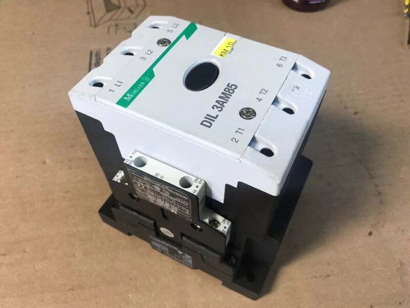 Klockner Moeller DIL 3AM85 Contactor 230V Coil 3P 820-XHI Auxiliary's FAST SHIP