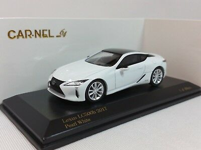 1:64 Kyosho CAR.NEL Lexus LC500h GWZ100 LF-LC FSPORT 2017-2018 White Ltd.999 pcs