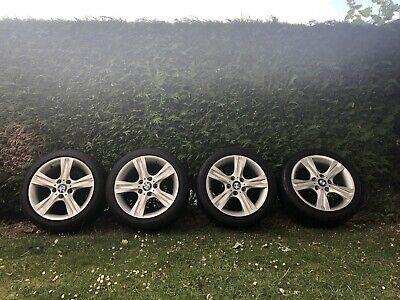 "BMW 17"" Alloy Wheels With Tyres *read description*"