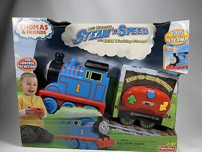 Fisher Price Thomas & Friends R/C Thomas Steam 'n Speed New in Box