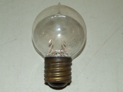 Antique Early Edison Christmas Tree Filament Light Bulb with Edison Mogul Base