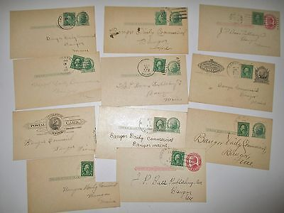 Huge Lot Of Bangor Daily Commercial News Items 1916  1933 Postcards