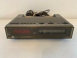 Vintage Carlton 7808A Alarm Clock AM / FM Radio Cordless Telephone