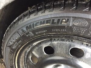 Michelin 215/50r17 Winter tires and rims