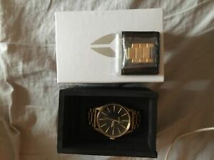 Gold Nixon watch FOR SALE
