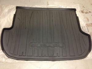 2009 - 2013 Subaru Forester Rear Cargo Tray / Liner / Mat Dark Gray Genuine OEM