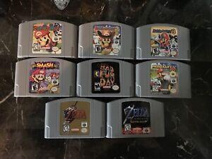 Jeux de nin64 à vendre!