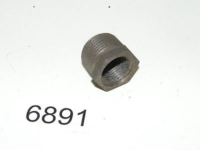 Black Steel Pipe Bushing Reducing Union 3/4 Male OD x 1/2 Female ID NPT