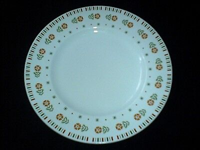 ALFRED MEAKIN GLO-WHITE MEA26 Retro Orange Flowers 7 inch Plate x2 (6 available