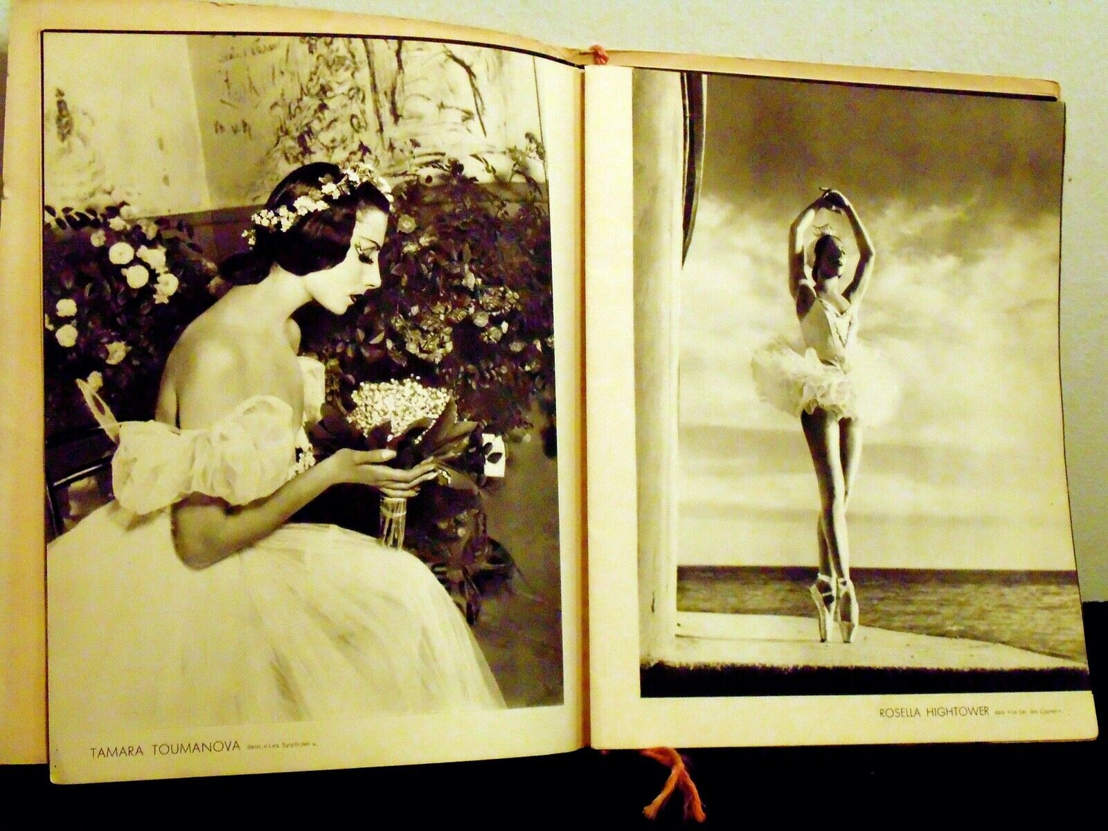 MARIE LAURENCIN ORIGINAL LITHOGRAPH S BALLET PROGRAM PHOTOS FRENCH DANCE LISTED - $749.00