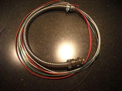 Amphenol El1-2020 Connector Cable 7 Pin 50 Inch. Used.