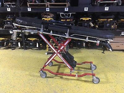 15 Ferno Powerflexx St Stat Track Cot Ambulance Stretcher Stryker Saej3027 3867