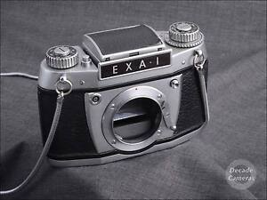 5136-Exa-I-film-camera-body-with-Waist-Lever-Viewfinder
