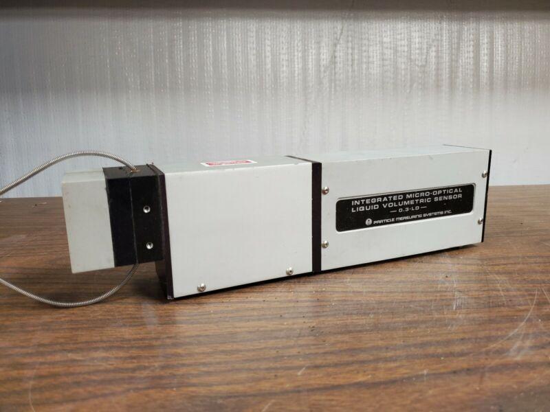 Particle Measuring Systems Liquid Volumetric Sensor IMOLV-.3-LD-1