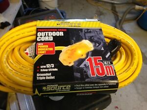 50ft extension cords heavy duty.