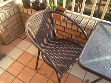 Outdoor table and chairs Homebush West Strathfield Area Preview
