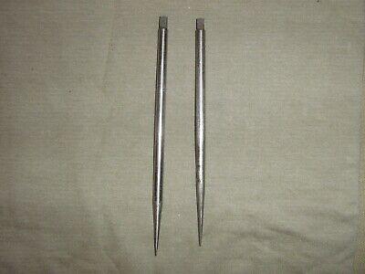 Micrometer Starrett Trammel Point Rods Used