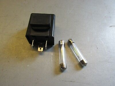 BMW Hella Bar End Turn Signal 12v LED BULBS +RELAY r90s r100rs r75/6 r60/5 r75/5 Bmw Turn Signal Relay