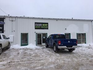 2000 SQ FT SHOP IN PRINCE ALBERT FOR RENT