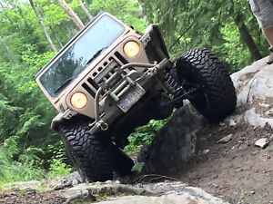 1999 jeep TJ Sahara built with lots of extras