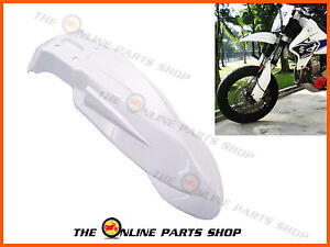 Universal Plastic Front Fender / Mudguard Suitable For Suzuki DRZ 400 Supermoto