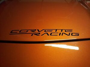 Corvette Racing Decal/Sticker -- X2 (PAIR)C7, C6R, Z06, ZR1