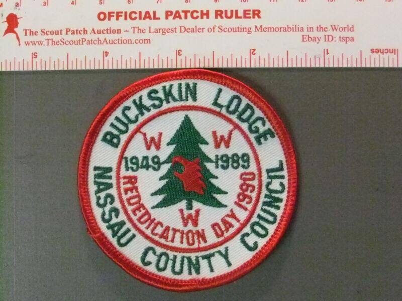 Boy Scout OA 412 Buckskin round 6790JJ