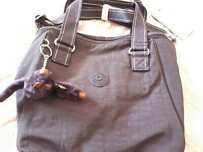 kipling amiel shoulder bag, new, very dark blue, darker than photo.£60 retail.