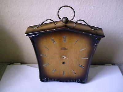 altes Uhrengehäuse von Lauffer Uhren , Holz , zum Aufarbeiten