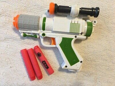 Nerf General Grievous Blaster With Darts Works Star Wars