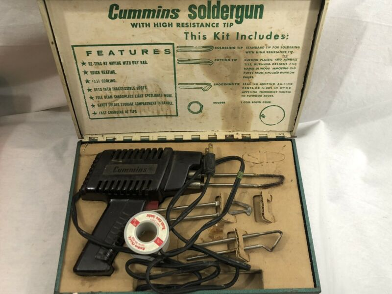 cummins  Solder gun high resistant tip