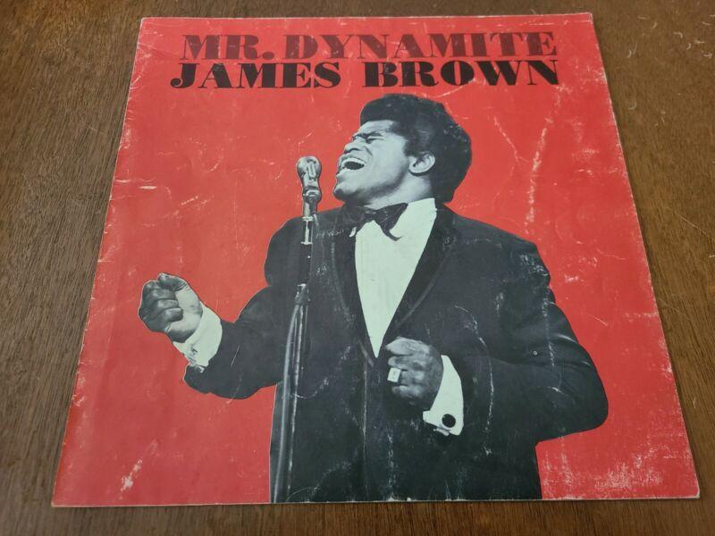 James Brown 1966 Program