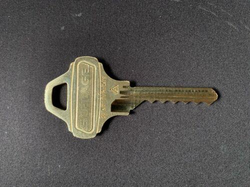 Schlage Everest D125 Key Cut to Code 9