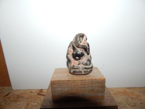 Antique Medieval Black stone Himalayan Ganesha