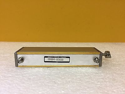 Hp Agilent 08684-60030 Dc To 18 Ghz 0 To 110 Db Sma F Attenuator. Tested