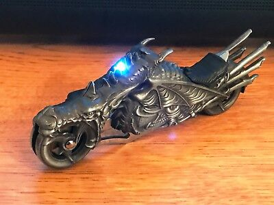 "7"" DRAGON BIKER BLADE DESIGN STAINLESS STEEL TACTICAL FOLDING POCKET KNIFE Open"