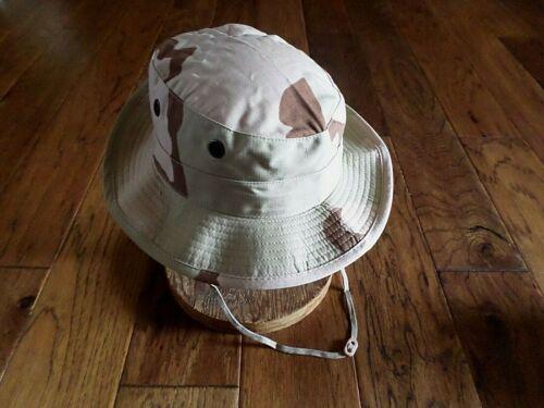 U.S Military Desert Boonie Hat Type II Sun Hot Weather Gulf War U.S.A Made