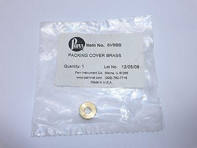 Parr Instrument Co. Packing Cover Brass 6vbbb Genuine Oem Part