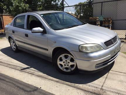2001 Holden Astra CD TS Auto Sedan REGO AND RWC INCLUDED!