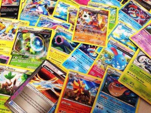 Pokemon Tcg 50 Card Lot : Rare Common Uncommon Guaranteed Rares & Holos