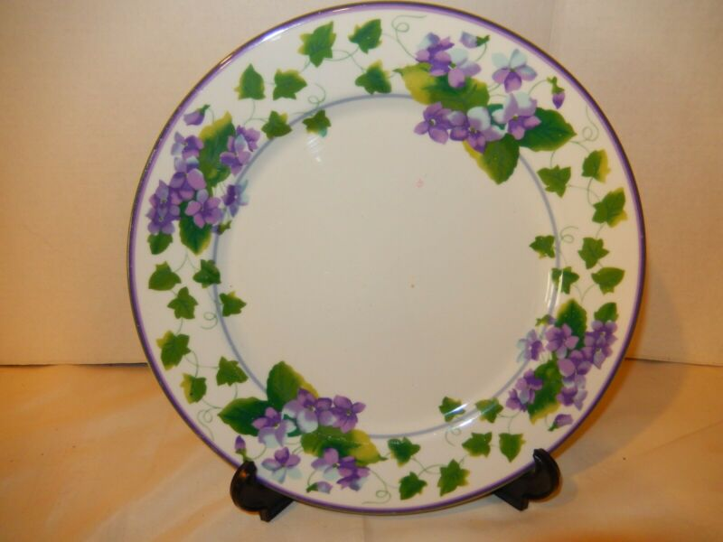"""WAVERLY; """"SWEET VIOLET"""" Pattern; 10 Assorted Dishes"""