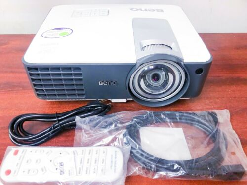 BenQ MX819ST 1080p/60 Short-Throw HDMI 3D ceiling Projector 3000 LUMEN w/remote