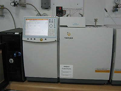 Varian Gcms 450 Gc 220 Ms Ion Trap Bruker Agilent Gcms - Mint Warranty