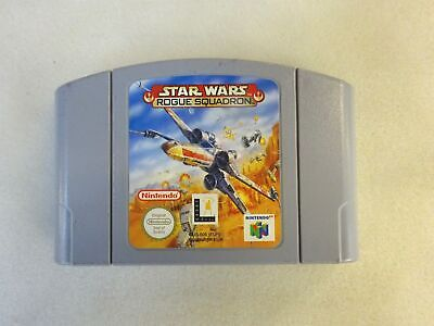 Star Wars Rogue Squadron N64 Nintendo 64 Lucas Arts PAL Game