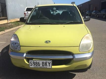 2001 Daihatsu Sirion Hatchback Aircon 155xxxkms $1990
