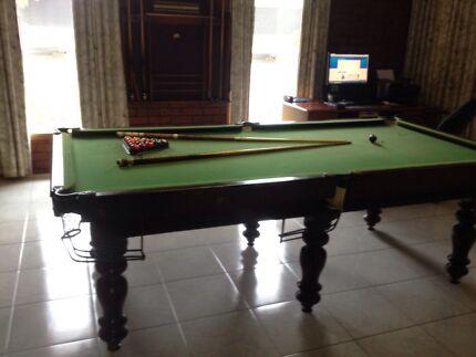 Vintage Billiard table  Newport Hobsons Bay Area Preview